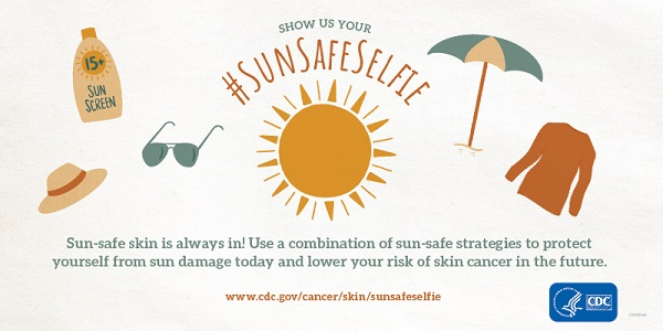 Sun-safe skin is always in! Use a combination of sun-safe strategies to protect yourself from sun damage today and lower your risk of skin cancer in the future.