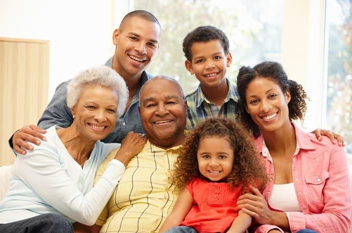 一家人的照片