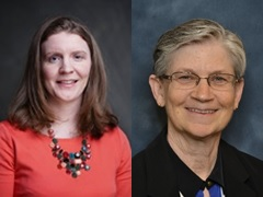 Photos of Maureen Miller, MD, MPH and Elizabeth Unger, PhD, MD