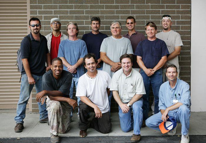 Group of men.