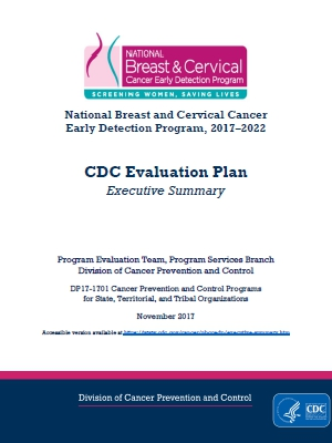 Cdc  Evaluation Plan Executive Summary  Nbccedp  Cancer