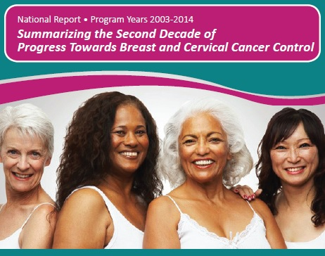 National Report for Program Years 2003 to 2014: Summarizing the Second Decade of Progress Towards Breast and Cervical Cancer Control