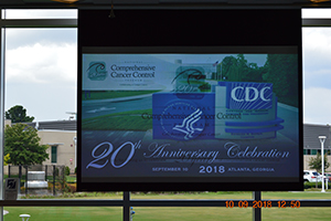 CDC hosts the 20th anniversary event of the National Comprehensive Cancer Control Program