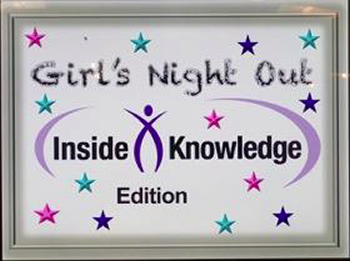"Session poster titled ""Girl's Night Out: Inside Knowledge Edition""."