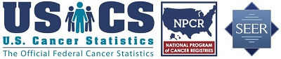U.S. Cancer Statistics: The Official Federal Cancer Statistics. National Program of Cancer Registries and SEER