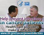 Health care providers and preventing infections shareable graphic