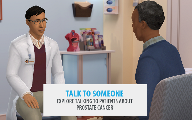 Talk to someone: explore talking to patients about prostate cancer