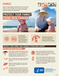 Protect Your Family and Yourself from Skin Cancer fact sheet