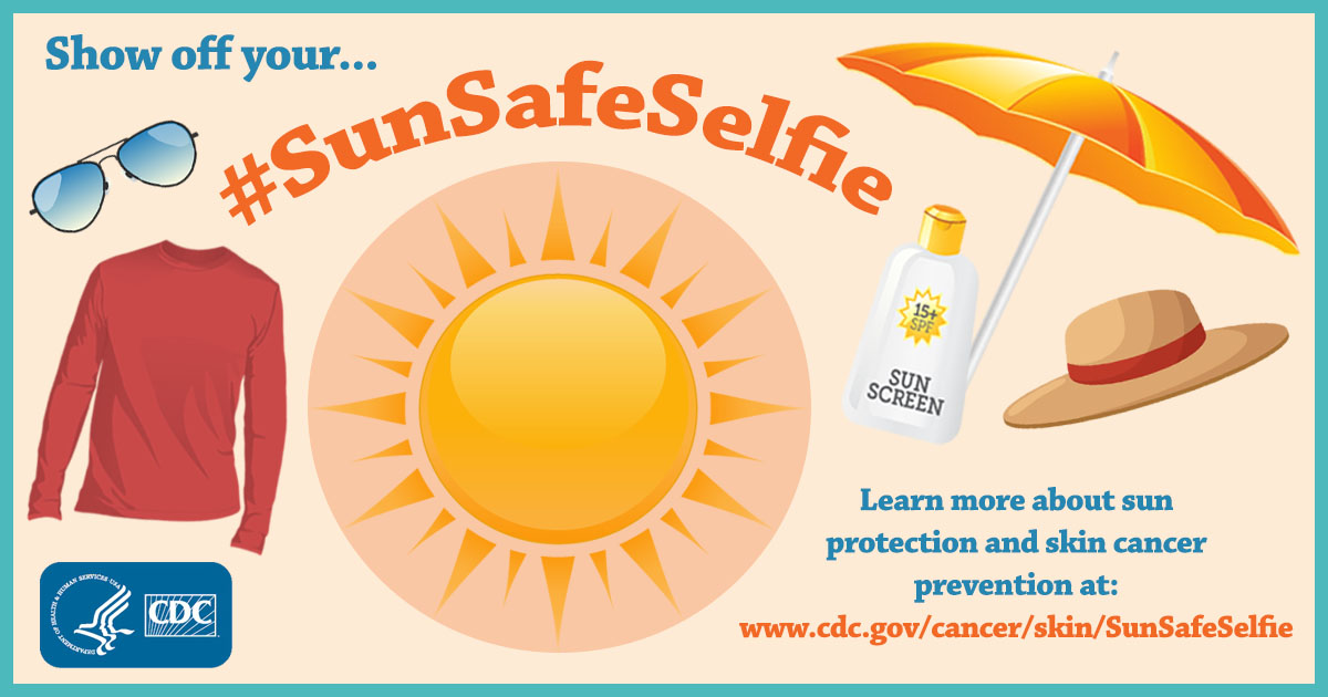 Sunsafeselfie Skin Cancer Cdc