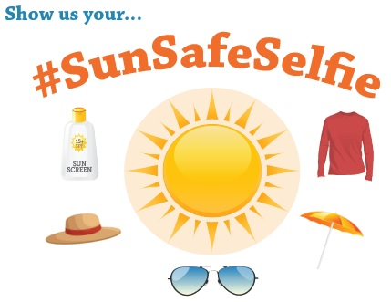 Show us your #SunSafeSelfie!