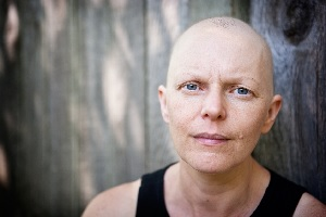 Photo of a cancer survivor