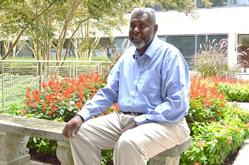 Photo of cancer survivor George Hilliard.