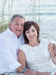 Photo of ovarian cancer survivor Terri and her husband, Johnny