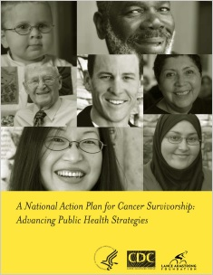 Cover of the National Action Plan for Cancer Survivorship