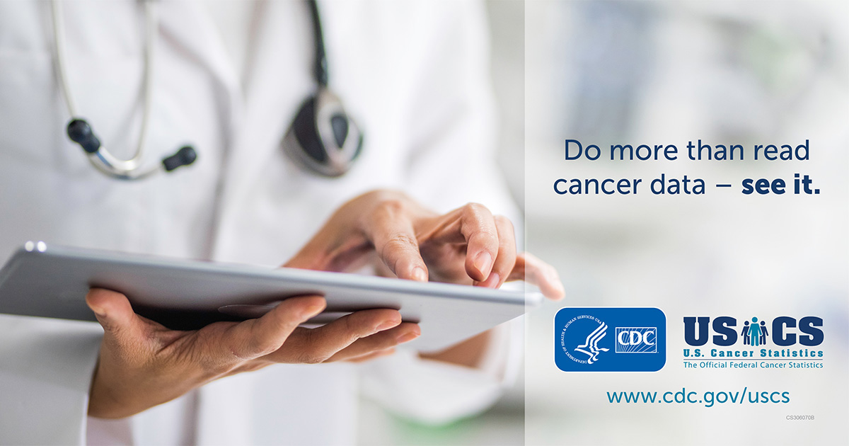 Do more than read cancer data; see it.