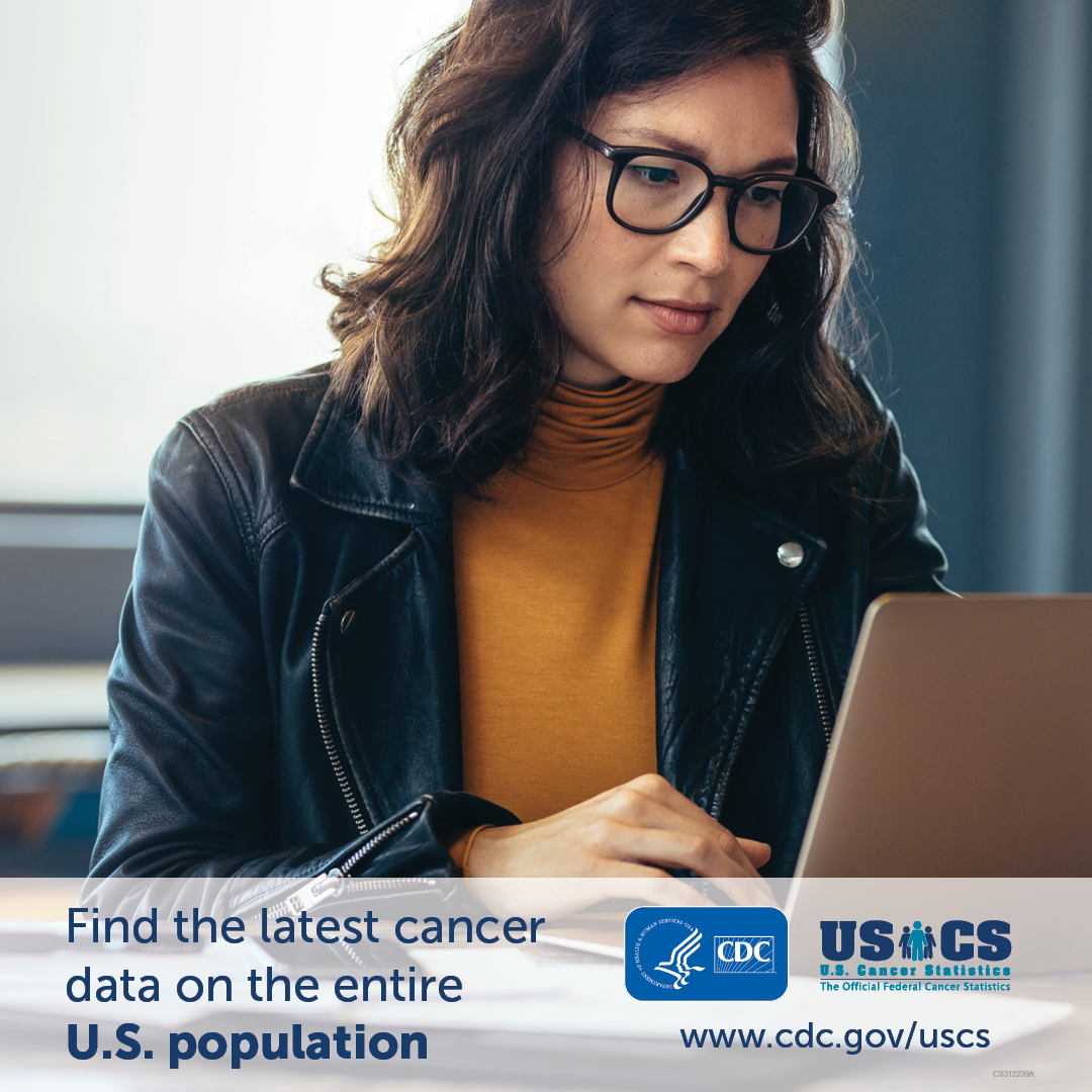 Find the latest cancer data on the entire U.S. population