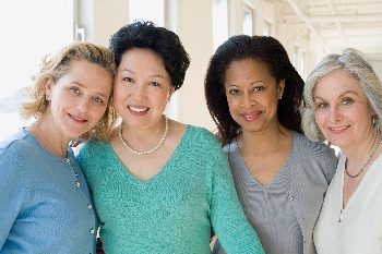 Photo of four women