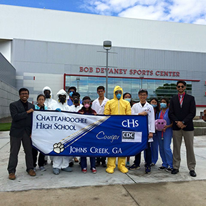 2015 National Science Olympiad Team from Chattahoochee High School in John's Creek, GA