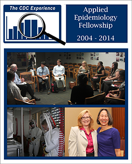 Collage of photos from the CDC Experience fellowship