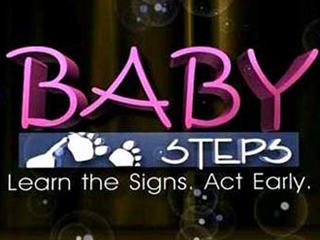 Graphic: Baby Steps: Learn the Signs. Act Early