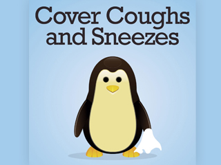 Penguin cover coughs