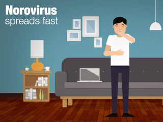 Graphic: Norovirus spreads fast