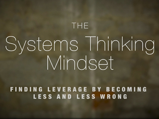 Systems Thinking Mindset