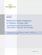 Behavioral Health Integration in Pediatric Primary Care Thumbnail