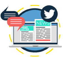 news on monitor and social media