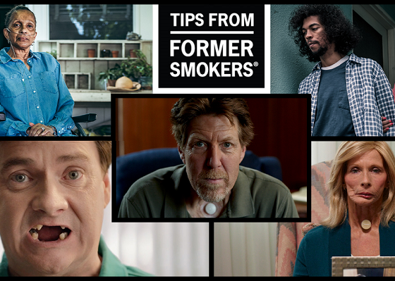 Tips from Former Smokers campaign