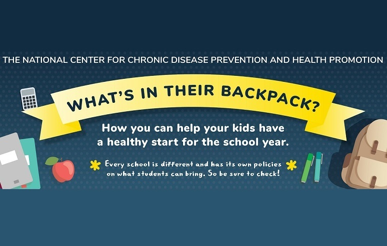 What's In Their Backpack? How you can help your kids have a healthy start for the school year. Every school is different and has its own policies on what students can bring. So be sure to check!