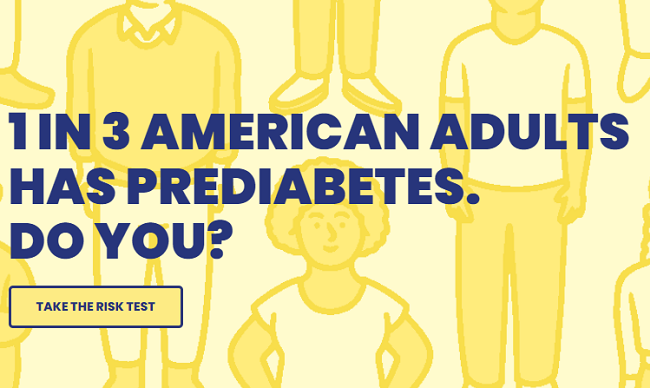 Prediabetes Awareness campaign