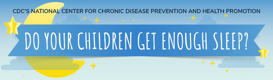 Do Your Children Get Enough Sleep? CDC's National Center for Chronic Disease Prevention and Health Promotion