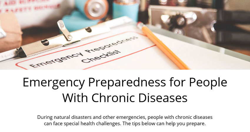 Emergency Preparedness for People with Chronic Diseases