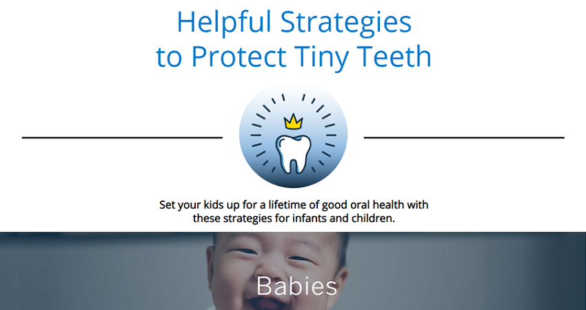 Infographic for Helpful Strategies to Protect Tiny Teeth