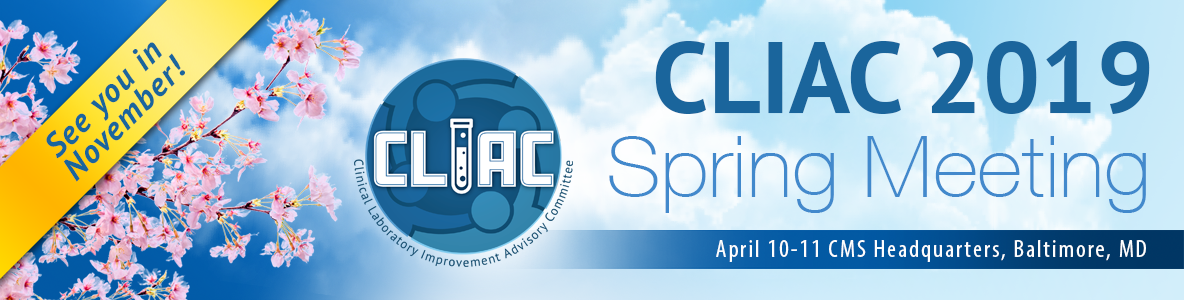 CLIAC Spring Meeting