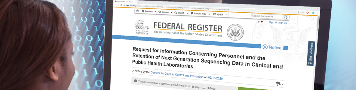 Read the new next generation sequencing Request for Information
