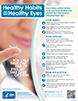 Healthy Habits = Healthy Eyes poster