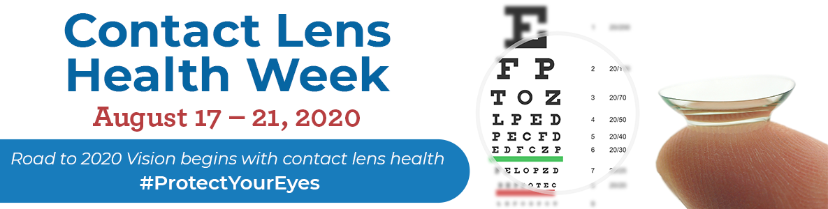 Contact Lens Health Week, August 17 - 21, 2020
