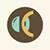 Contact lens icon