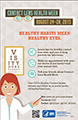 You only have one pair of eyes, so take care of them! Contact Lens Health Week, August 24-28, 2015.