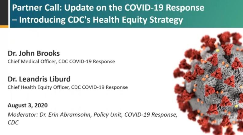 CDC의 COVID-19 건강 형평성 전략 소개