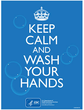 Keep Calm and Wash Your Hands.