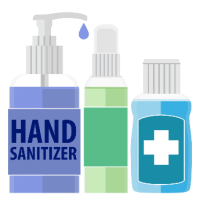 Hand sanitizers and proper use