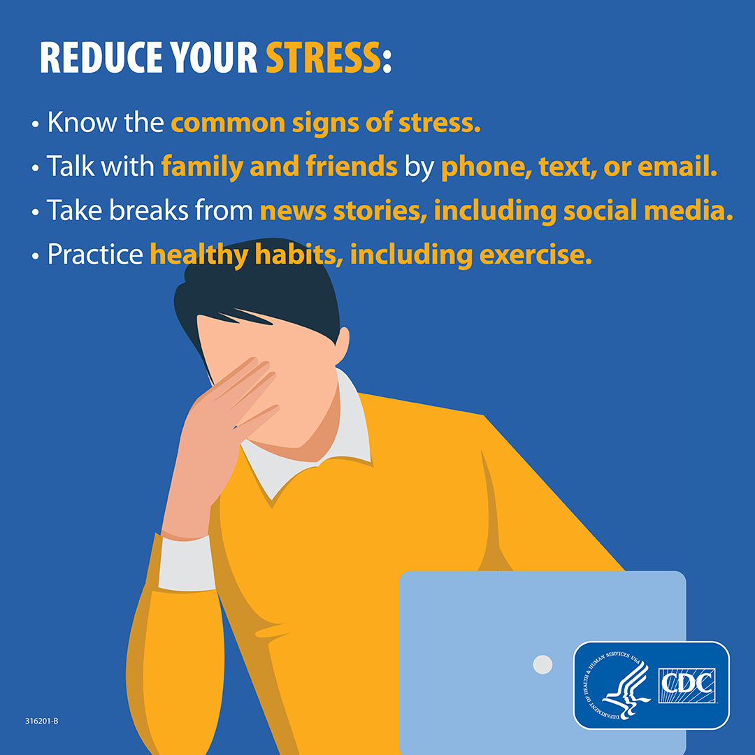 Ways to reduce stress during COVID-19