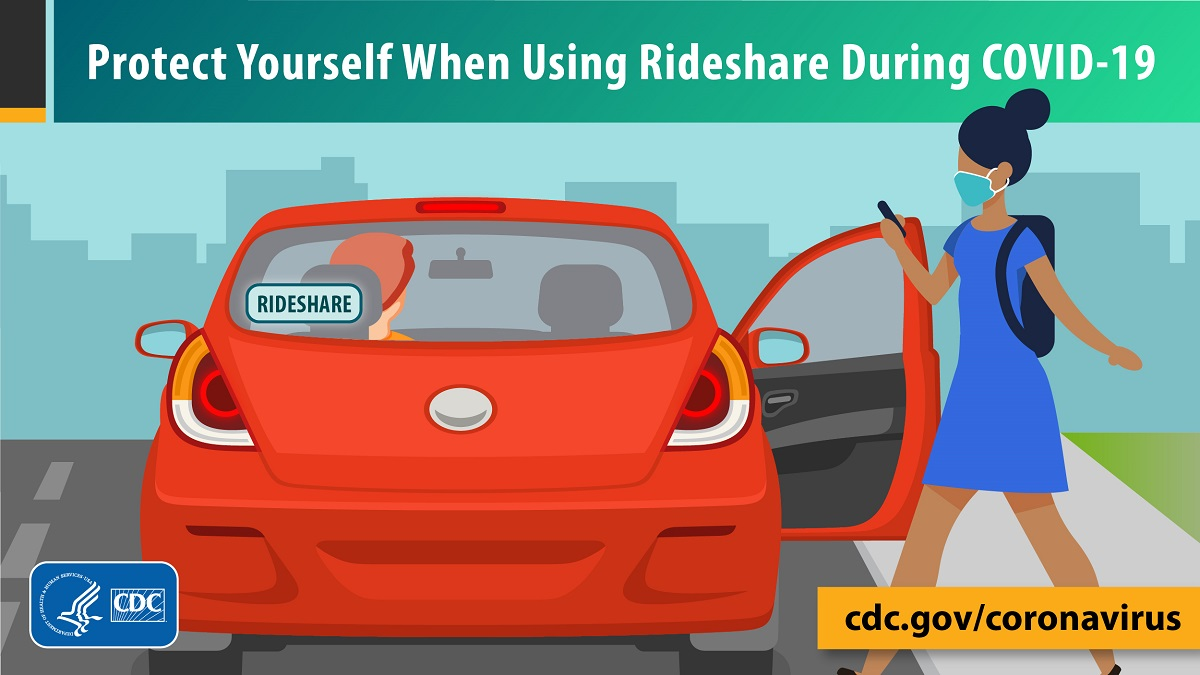 Protect yourself when using rideshare during COVID