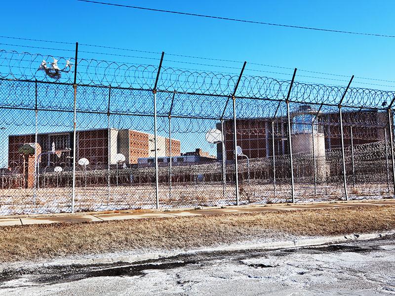 일리노이주 시카고의 쿡 카운티 감옥