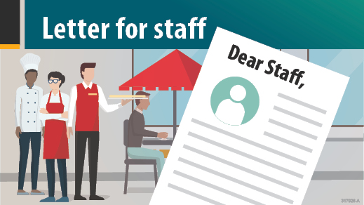 Letter for Staff - illustration