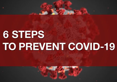 Video: 6 Steps to Prevent COVID-19