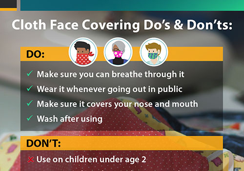 Cloth Face Covering Do's & Don'ts